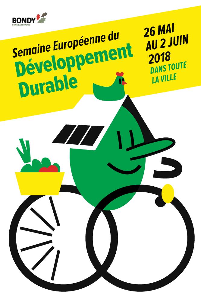 Semaine du développement durable 2018 - affiche