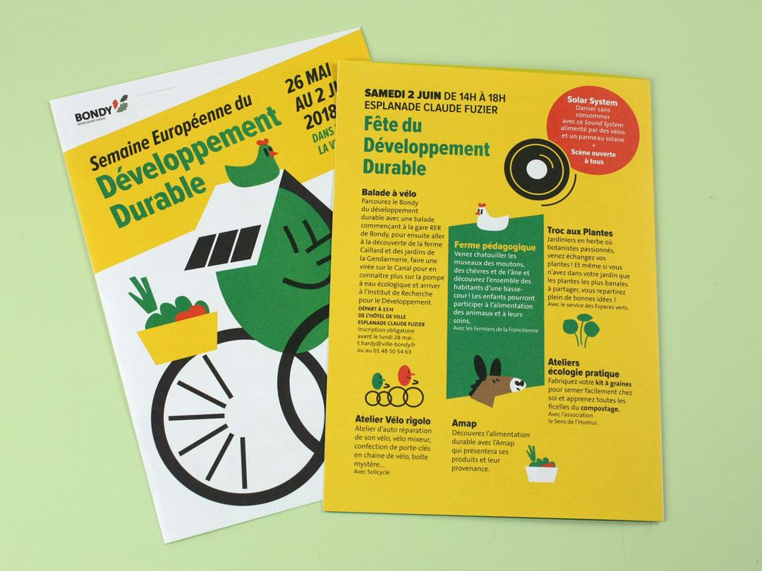 Semaine du développement durable 2018 - flyer