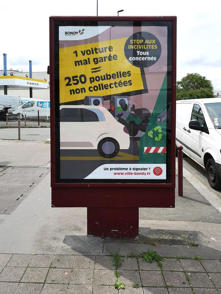 Campagne incivilités : stationnement gênant