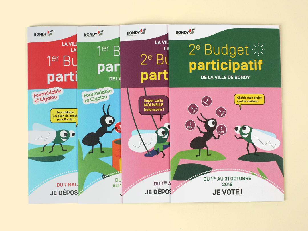 Dépliants Budget participatif