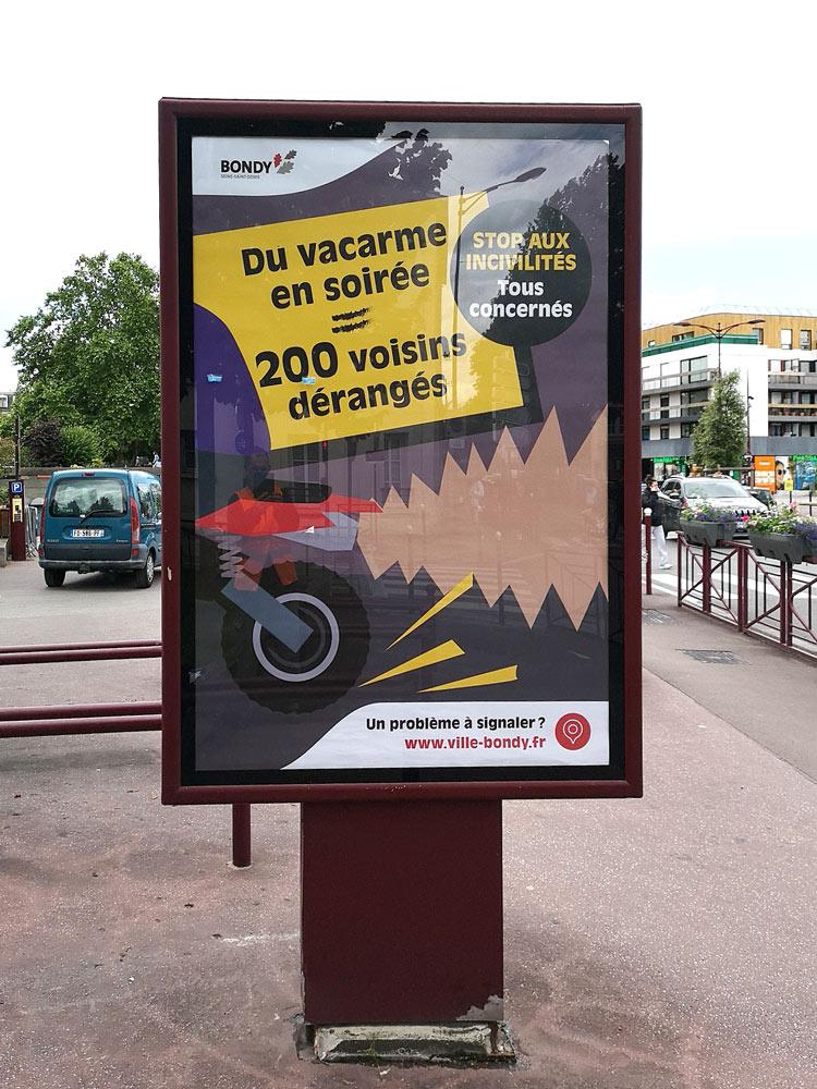 Campagne incivilités : motos