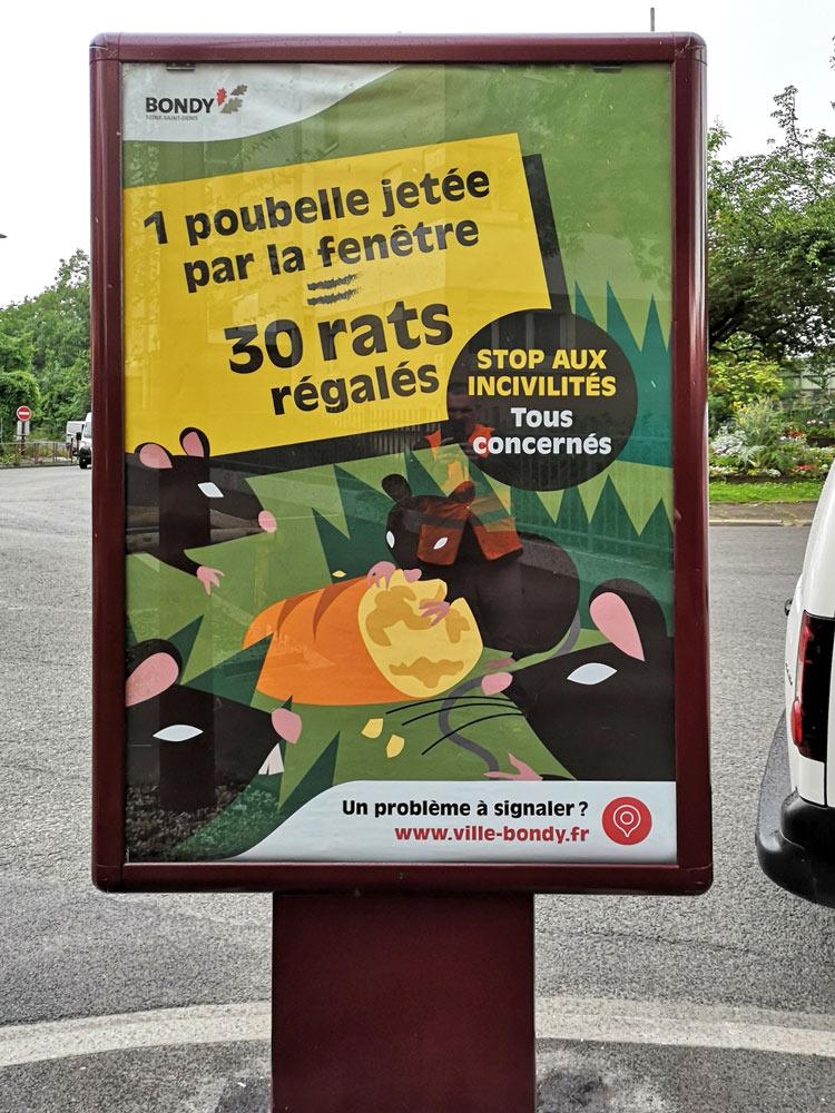 Campagne incivilités : rats
