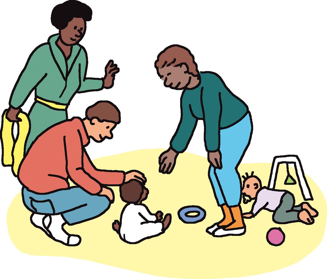 Crèche - illustration