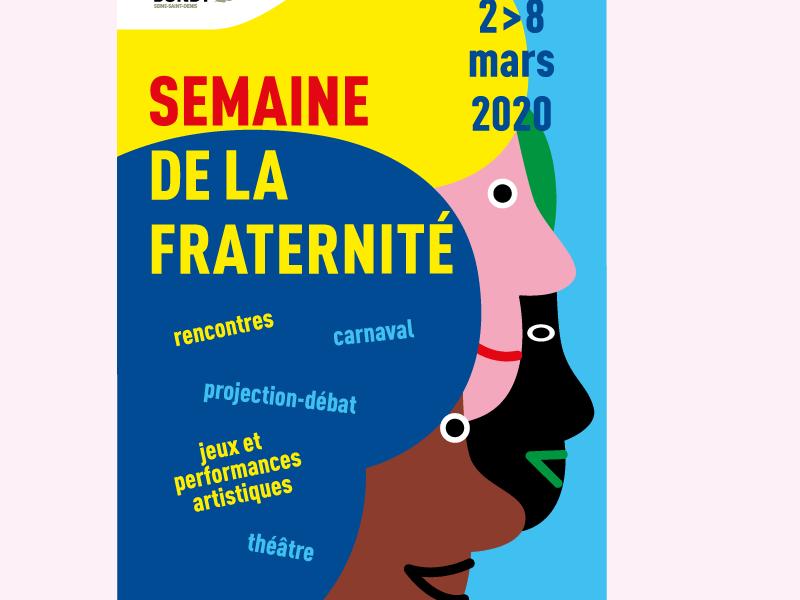Affiche de la semaine de la fraternité 2020